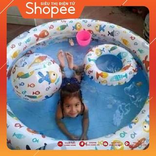 Bể bơi intex 3 chi tiết cho bé | GIÁ CỰC SỐC