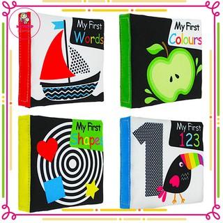 Yêu ThíchBộ 4 Sách vải Lakarose giúp bé chơi tự lập, phát triển thị giác dành cho bé từ 0-1 tuổi