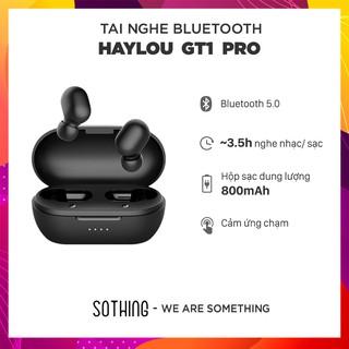 Tai Nghe Bluetooth True Wireless Haylou GT1 PRO Bluetooth 5.0 (Phiên bản nâng Cấp Haylou GT1) - Hàng Chính Hãng thumbnail