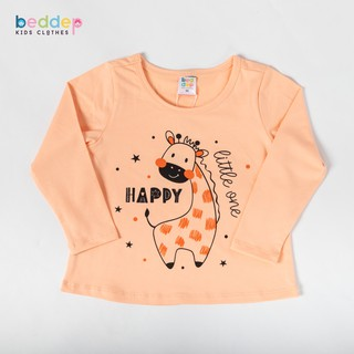 Áo thun dài tay Beddep Kids Clothes in hình cao cấp cho bé gái BP-G04 thumbnail