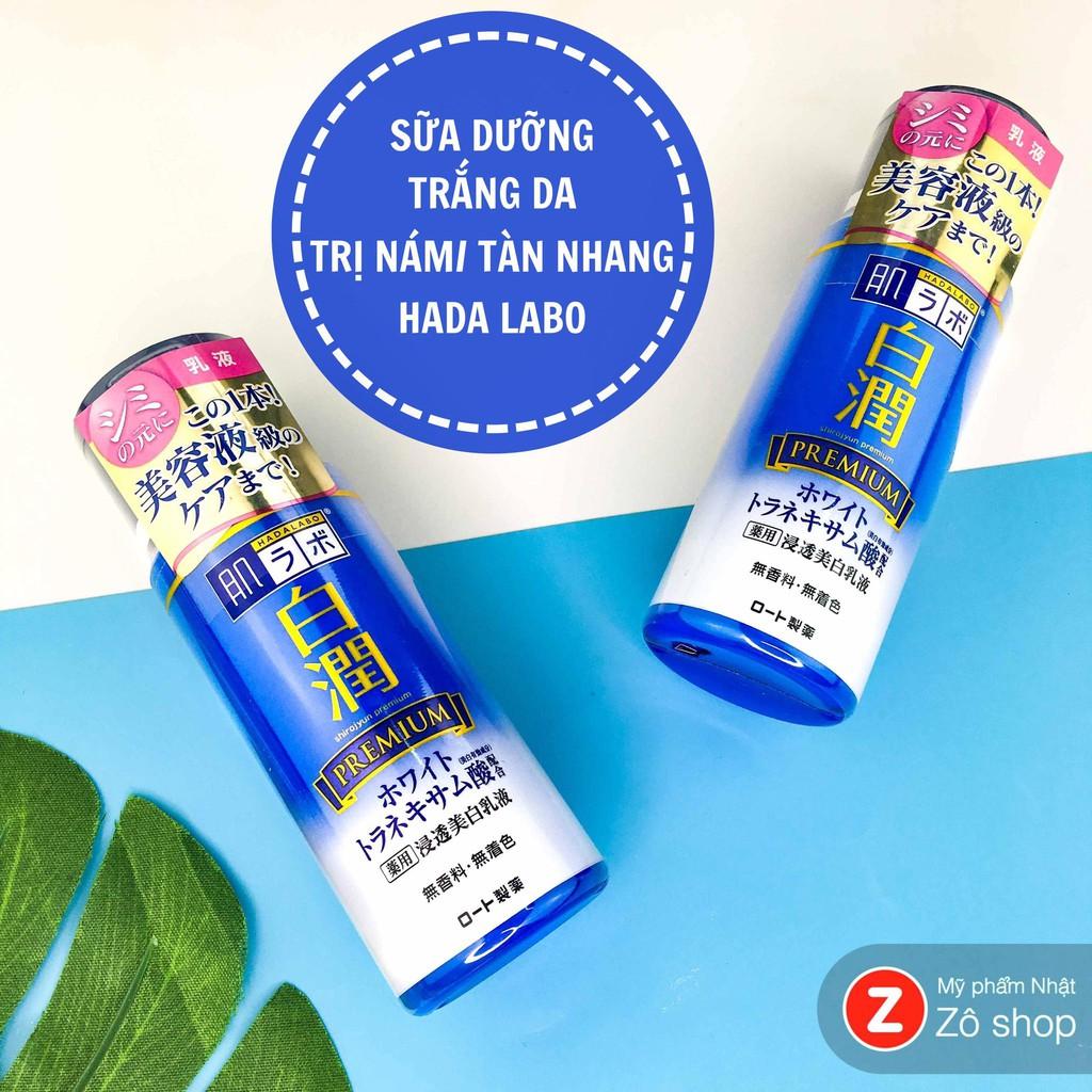 Sữa dưỡng - Hada Labo Shirojyun Premium Whitening Emulsion