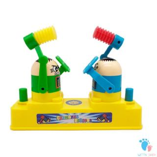 2-Person Fighting Toys Neutral Wood Doll Fighting Wooden Toys For Kids Funny