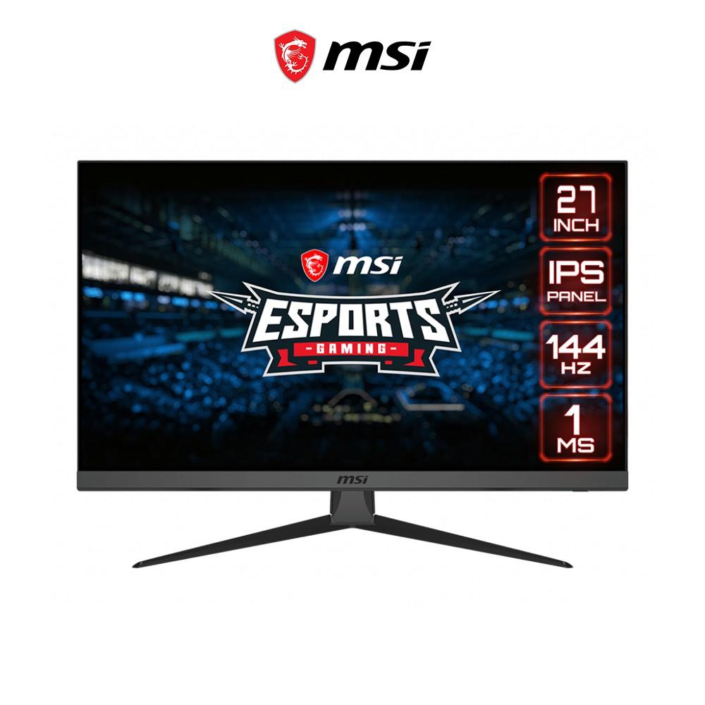 [Mã ELMALL7 giảm 7% đơn 499K] Màn hình Gaming MSI Optix G272 27 inch IPS 144Hz Night Vision Game Mode