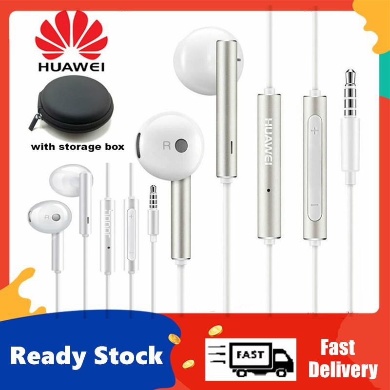Original Huawei Earphone AM116 Honor Headset Mic 3.5mm
