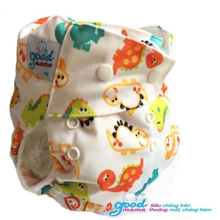 bỉm vải goodmama cho bé từ 3-16kg ban đêm bán sỉ