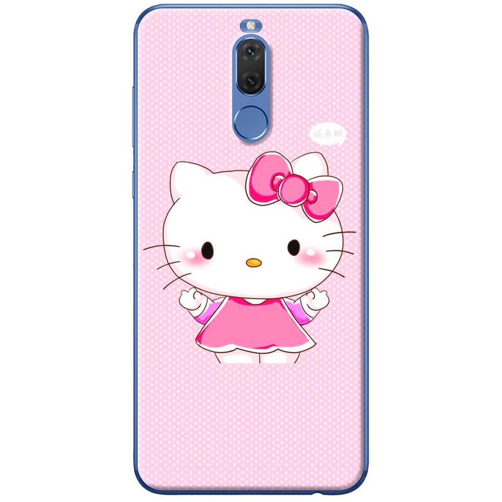 Ốp lưng nhựa dẻo Huawei Nova 2i Mèo Kit Ty
