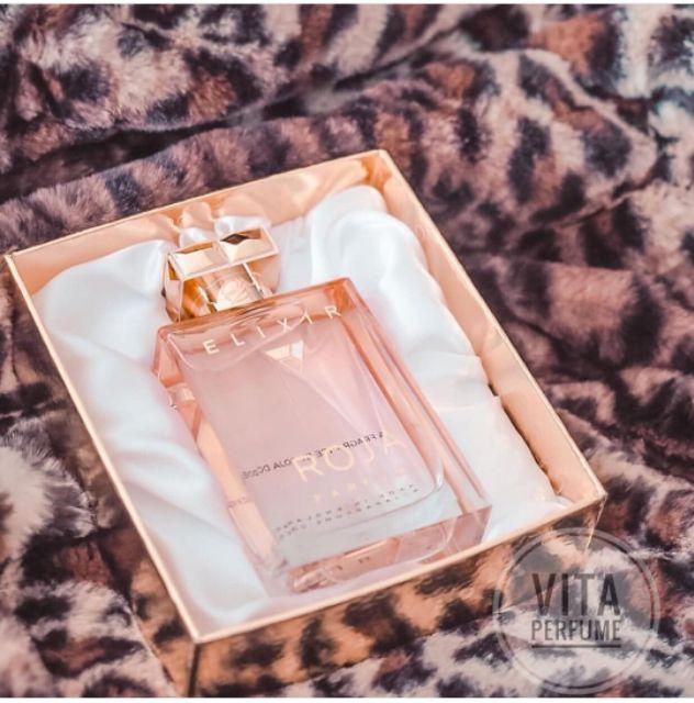 Nước Hoa Niche ELIXIR của ROJA PARFUMS - Những Vuốt Ve Thơm Mùi Tình Yêu