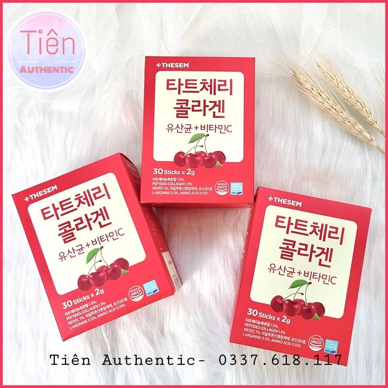 Hộp 30 gói Collagen Peptide vị Cherry siêu hấp thu