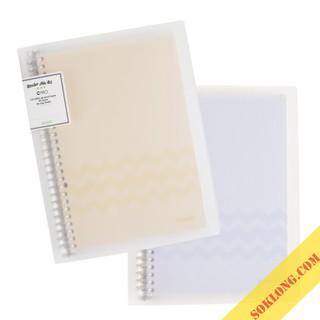 Sổ còng sắt Klong B5 Caro 80 tờ 26 chấu; binder B5 Klong MS 550