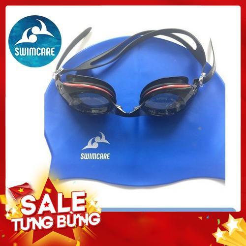 Combo mũ và kính bơi cao cấp SWIMCARE