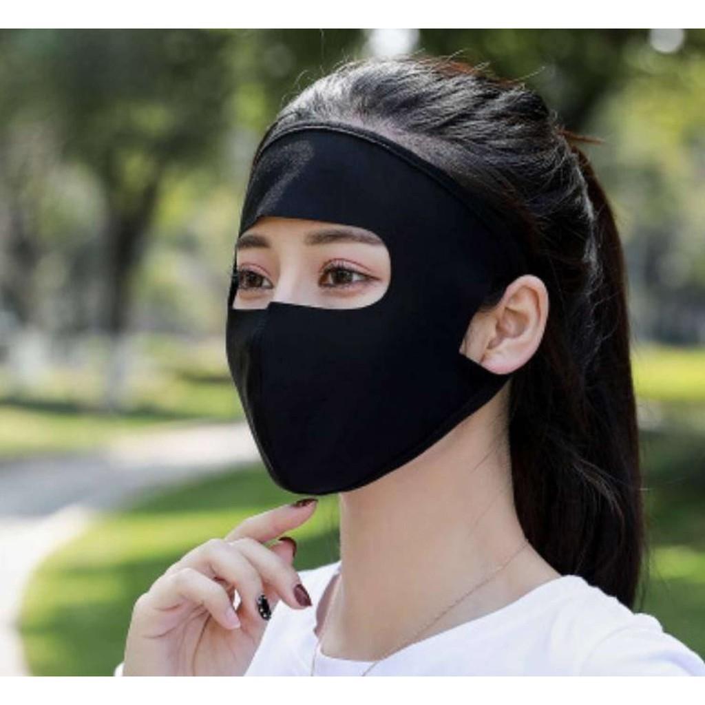 Khẩu Trang Chống Nắng Nam Nữ, Khẩu Trang Ninja Kín Mặt Chất Lượn