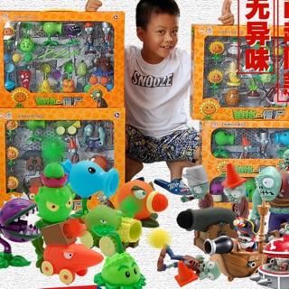 Bộ đồ chơi mẫu mới – lớn Plants & Zombie (tặng kèm thảm chơi)