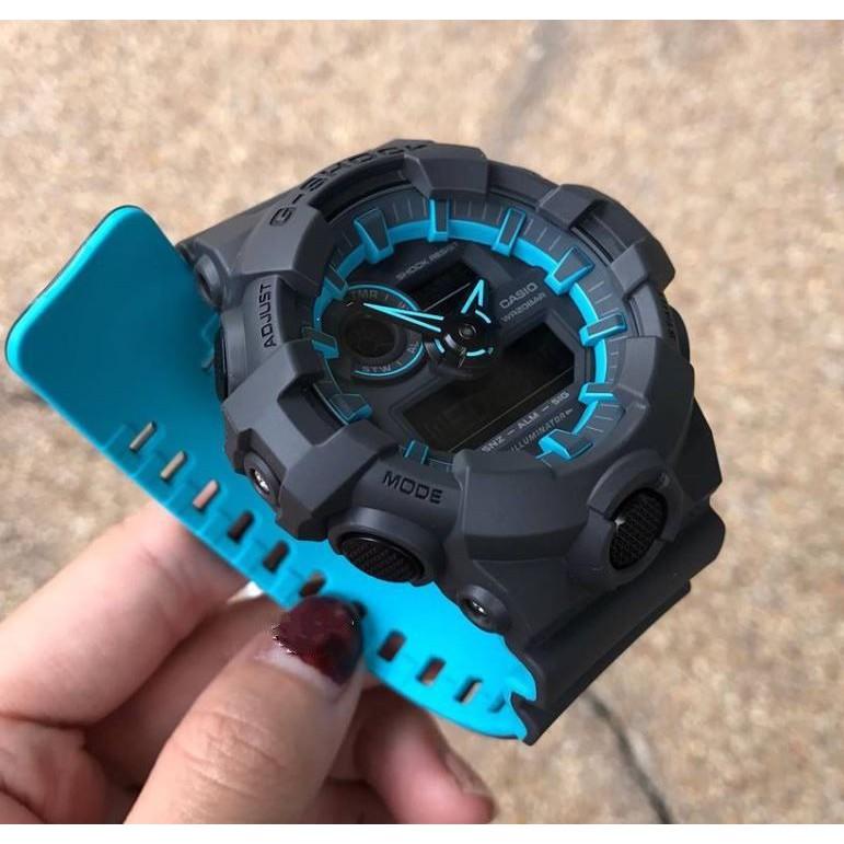 Đồng hồ nam Casio G Shock GA-700SE-1A2DR chính hãng chống nước 200m - Phiên Bản Giới