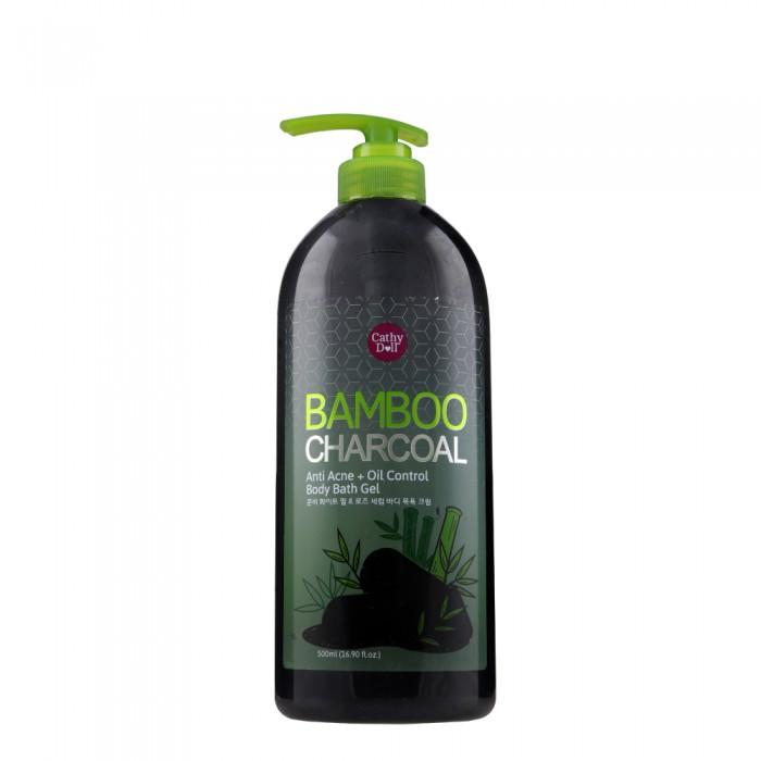 SỮA TẮM THAN TRE CATHY DOLL BAMBOO CHARCOAL ANTI ACNE+OIL CONTROL BODY BATH GEL 500ML