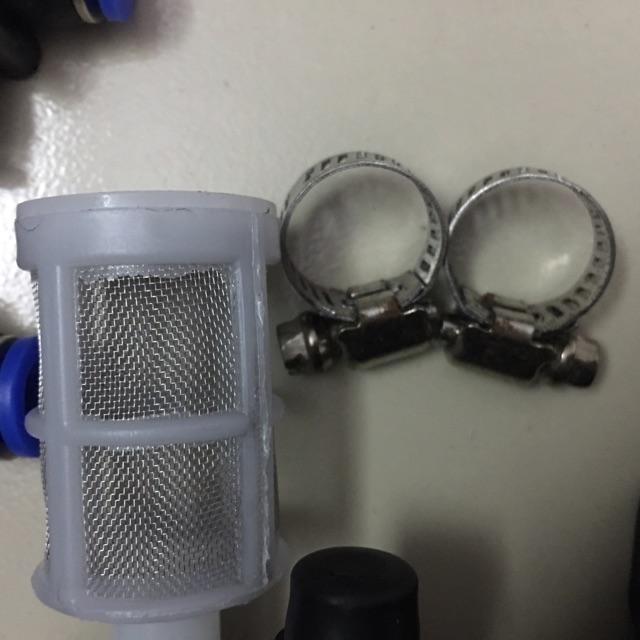 Bộ phun sương 6 chi tiết- bơm tăng áp mini - máy bơm nước mini 12v
