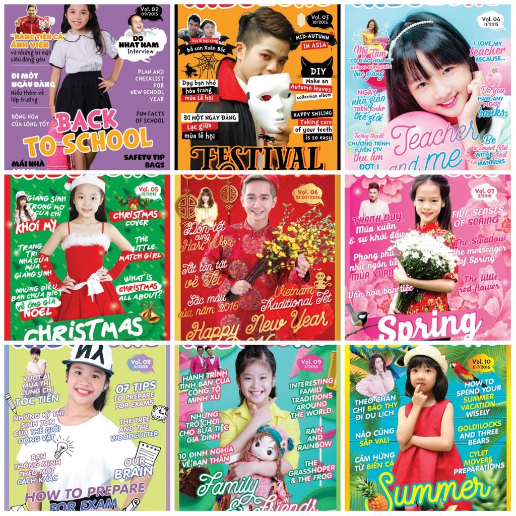 Bộ 11 cuốn tạp chí song ngữ Kids Zone - 2762698 , 42470016 , 322_42470016 , 231000 , Bo-11-cuon-tap-chi-song-ngu-Kids-Zone-322_42470016 , shopee.vn , Bộ 11 cuốn tạp chí song ngữ Kids Zone