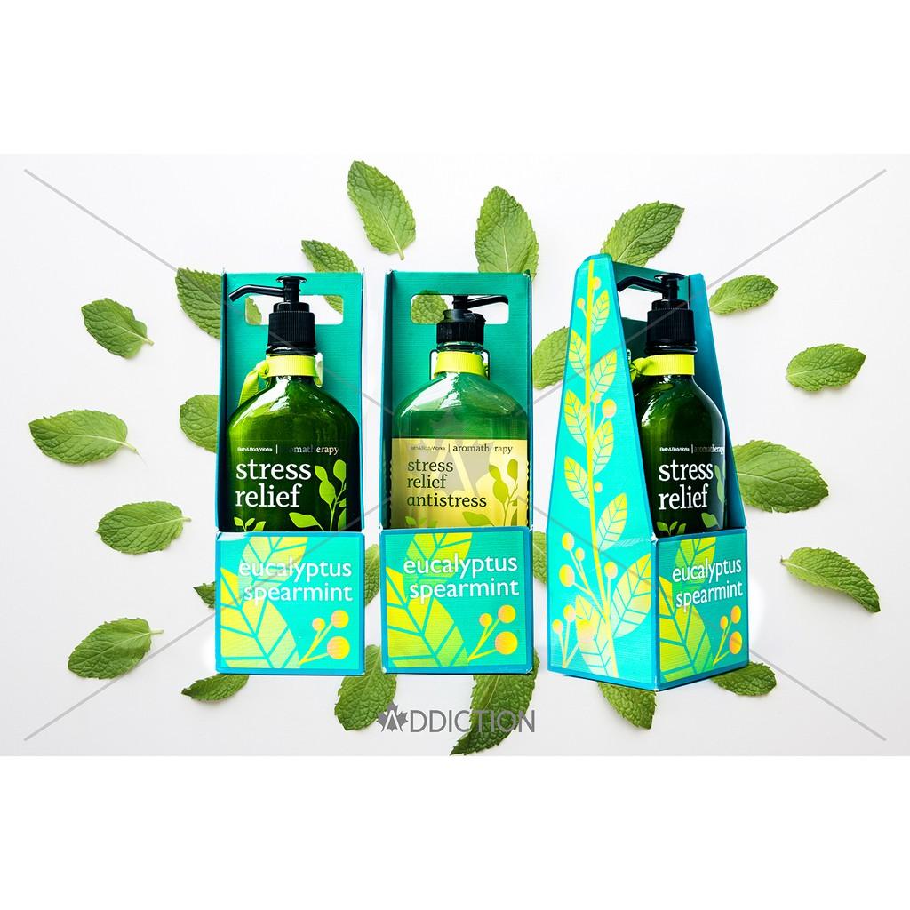 Bộ sản phẩm sữa tắm + dưỡng thể thư giãn Bath & Body Works