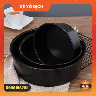 Khuôn tròn nướng bánh chống dính đế liền SIÊU ĐẸP 4 inch 5 inch 6 inch (HÀNG MỚI VỀ)
