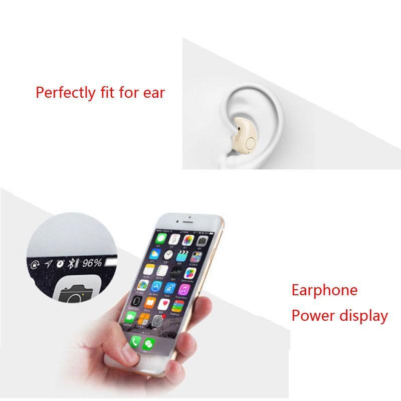 Tai nghe nhét tai bluetooth 4.1 mini chất lượng cao kèm phụ kiện