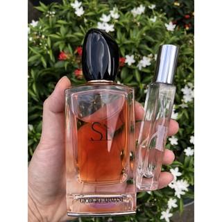 [Chính Hãng] Nước hoa nữ Sì Giorgio Armani chiết 10ml