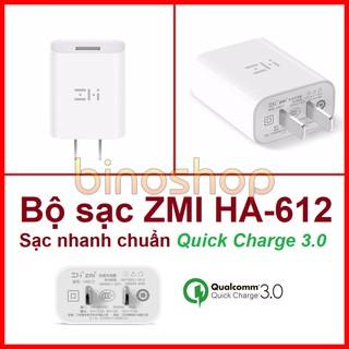 Sạc nhanh QC3.0 ZMI HA612 - Sạc nhanh Quick Charge 3.0 thumbnail