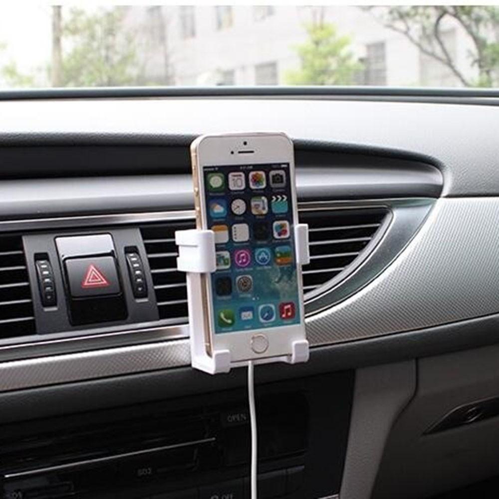 Kẹp giữ điện thoại gắn điều hòa xe hơi\