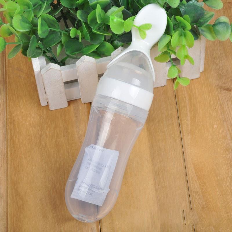 Bình Sữa Cho Bé Có Thìa (Màu Ngẫu Nhiên) BMBE1002 | TẠI HÀ NỘI