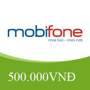 🔥 SALE SỐC: NẠP THẺ MOBIPHONE 500K BẰNG MÃ THẺ CÀO