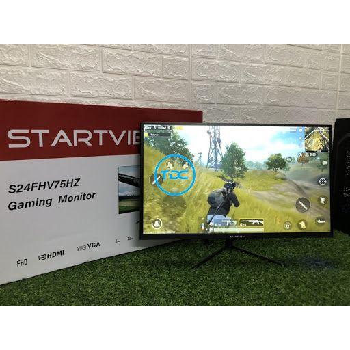 [Mã 159ELSALE hoàn 7% đơn 300K] Màn hình Gaming Startview 24 inch phẳng, 27 inch cong full viền chính