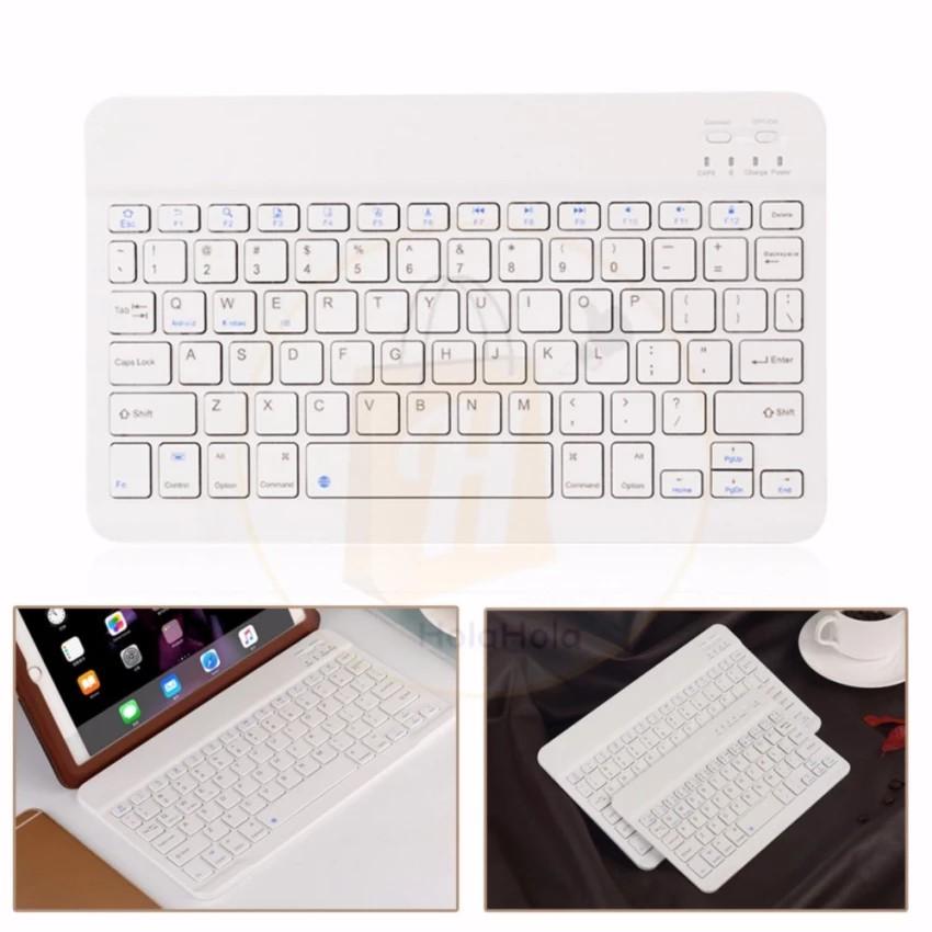 Bàn phím Bluetooth điện thoại và máy tính bảng E30 Trắng