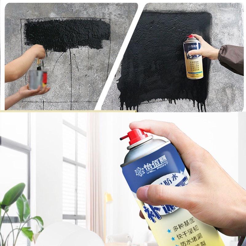 Sơn xịt chống thấm đa năng, Sơn xịt NANO chống thấm Nước thế hệ mới, sơn chống thấm dạng xịt tiện dụng