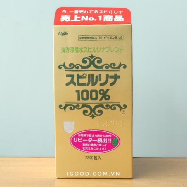 Date 2021 - Tảo xoắn Spirulina Nhật Bản 2200 viên tem đỏ - 2420381 , 850781804 , 322_850781804 , 550000 , Date-2021-Tao-xoan-Spirulina-Nhat-Ban-2200-vien-tem-do-322_850781804 , shopee.vn , Date 2021 - Tảo xoắn Spirulina Nhật Bản 2200 viên tem đỏ