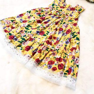 Váy thiết kế hè Anpine 2019. Chất liệu thô thái cam kết đẹp ,thấm hút mồ hôi cho bé ngày hè thoải mái, năng động