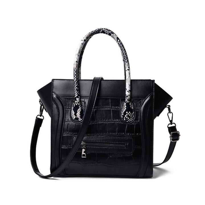 Túi xách nữ đeo chéo hàn quốc thời trang công sở cao cấp, da mềm quảng châu cá tính