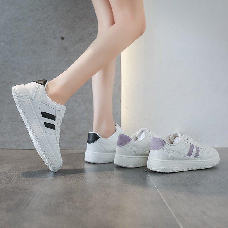 Giày Mũi Tròn Cột Dây Phong Cách Hàn Quốc Xinh Xắn Cho Nữ