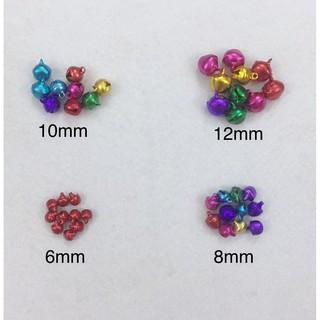 Chuông nhiều màu mix nhiều size 6-12mm trang trí HANDMADE