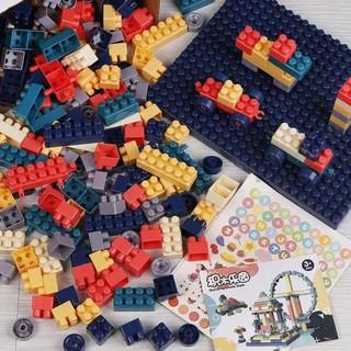 Lego 520 chi tiết – Đồ chơi sáng tạo nâng cao khả năng ghi nhớ cho bé