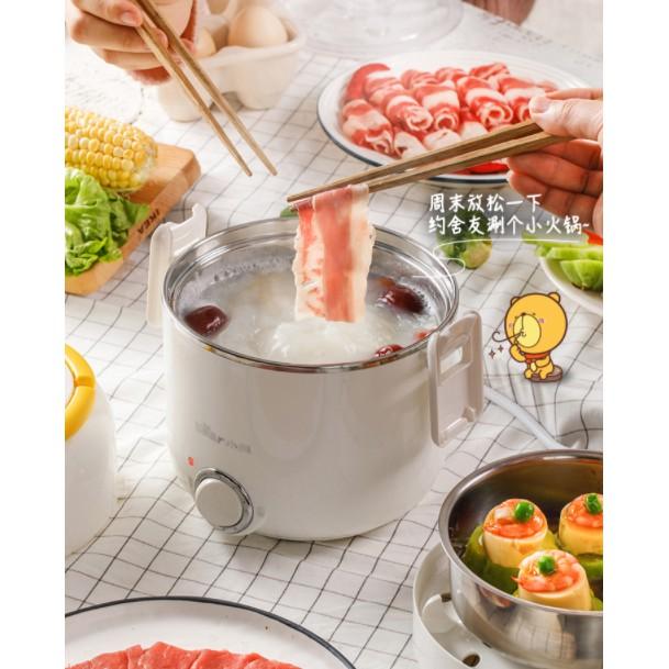 [Mã 267ELSALE hoàn 7% đơn 300K] Hộp cơm cắm điện Bear DFH-B16Q5, sử dụng để nấu chín, hâm nóng và giữ nhiệt cho thức ăn