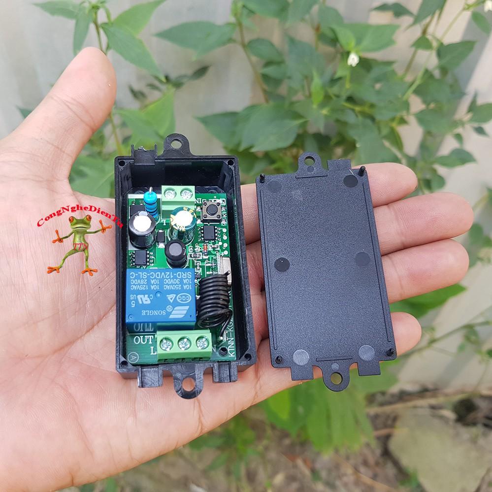 Board điều khiển từ xa RF học lệnh 433Mhz - 220 volt --- 1 board 220v