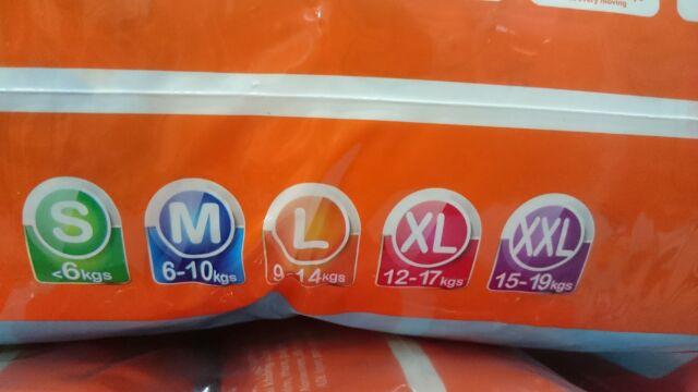 Tã quần Goodry size M60/L54/XL48/XXL44