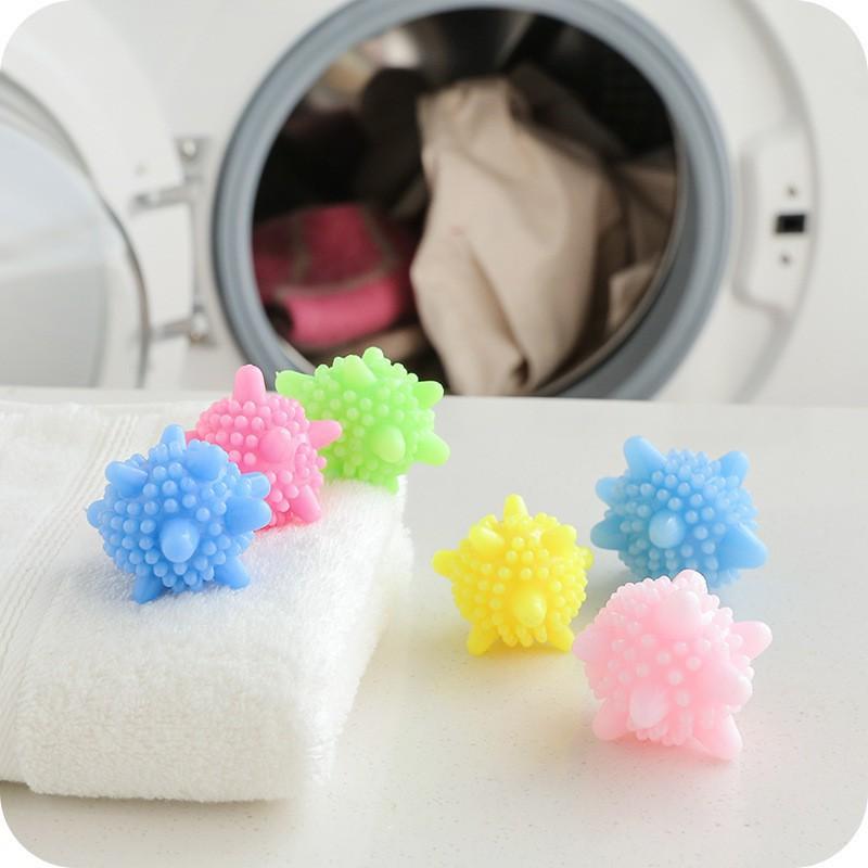 Qủa cầu gai giặt quần áo 🎁FREESHIP🎁Quả bóng giặt cao su mềm