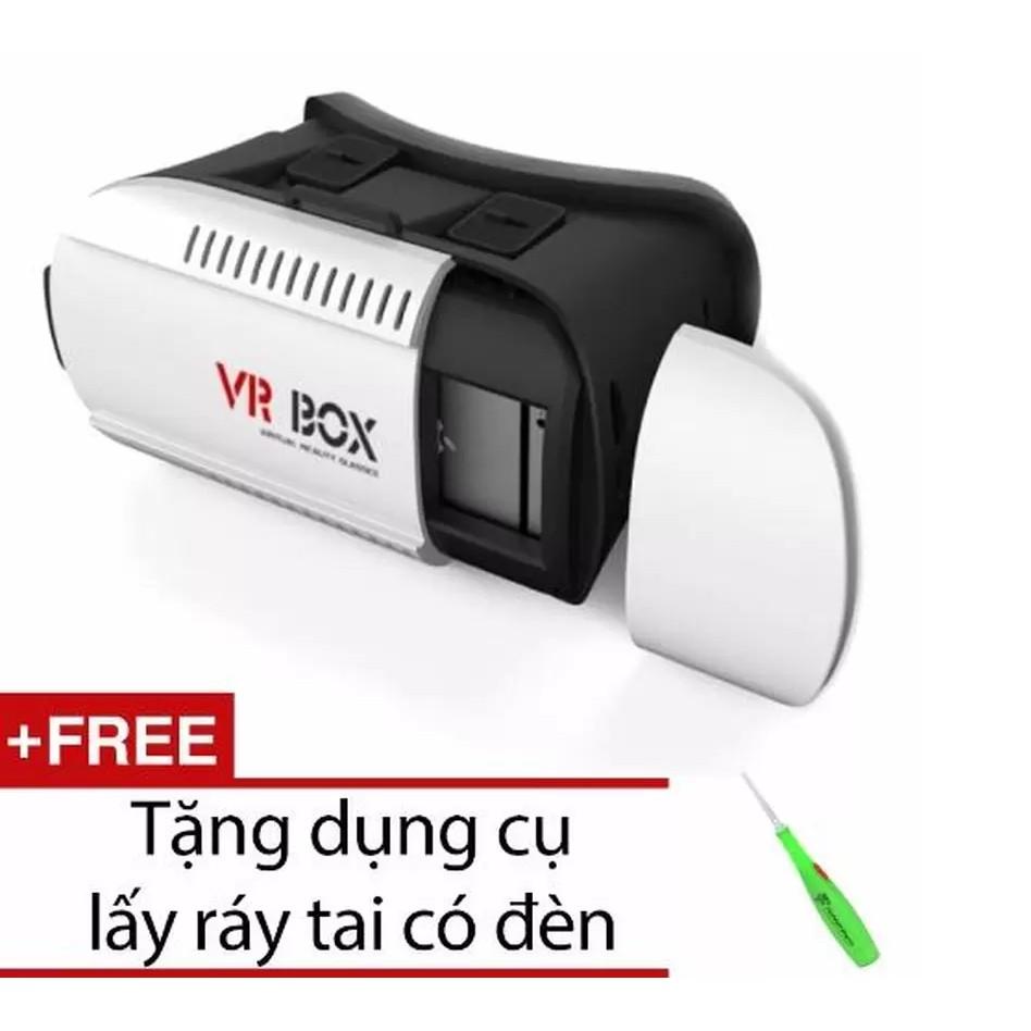 Kính thực tế ảo VRBOX + Tặng dụng cụ lấy ráy tai VRG009077 + VRG007858 - 2790898 , 123582570 , 322_123582570 , 132000 , Kinh-thuc-te-ao-VRBOX-Tang-dung-cu-lay-ray-tai-VRG009077-VRG007858-322_123582570 , shopee.vn , Kính thực tế ảo VRBOX + Tặng dụng cụ lấy ráy tai VRG009077 + VRG007858