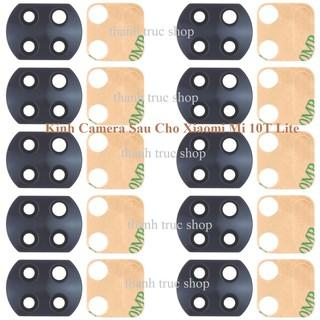 Kính Camera Sau Dành Cho Xiaomi Mi 10T Lite & Keo Dán thumbnail