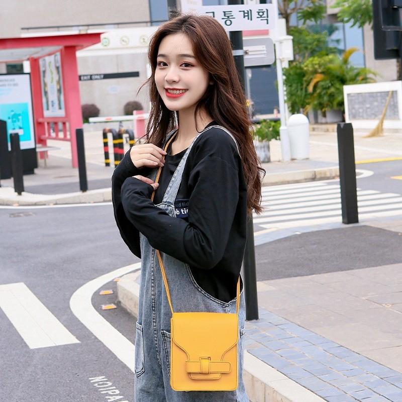 Túi xách nữ mini da mềm trơn siêu xinh LORIEN - Túi đeo chéo hàn quốc nữ đẹp LISA