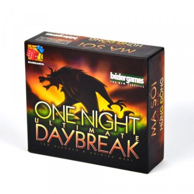 Combo Ma sói 3 bộ Ma sói character, One night ultimate, One night Daybreak