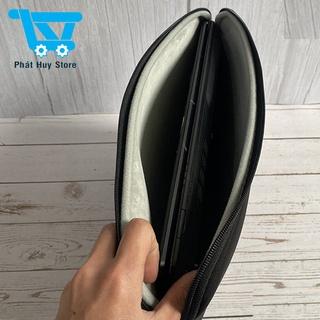 Túi chống sốc laptop Ipad 12 Inch 13 inch 14 inch 15 inch 17 inch giao màu ngẫu nhiên đen, ghi xám, xanh [Túi dày]