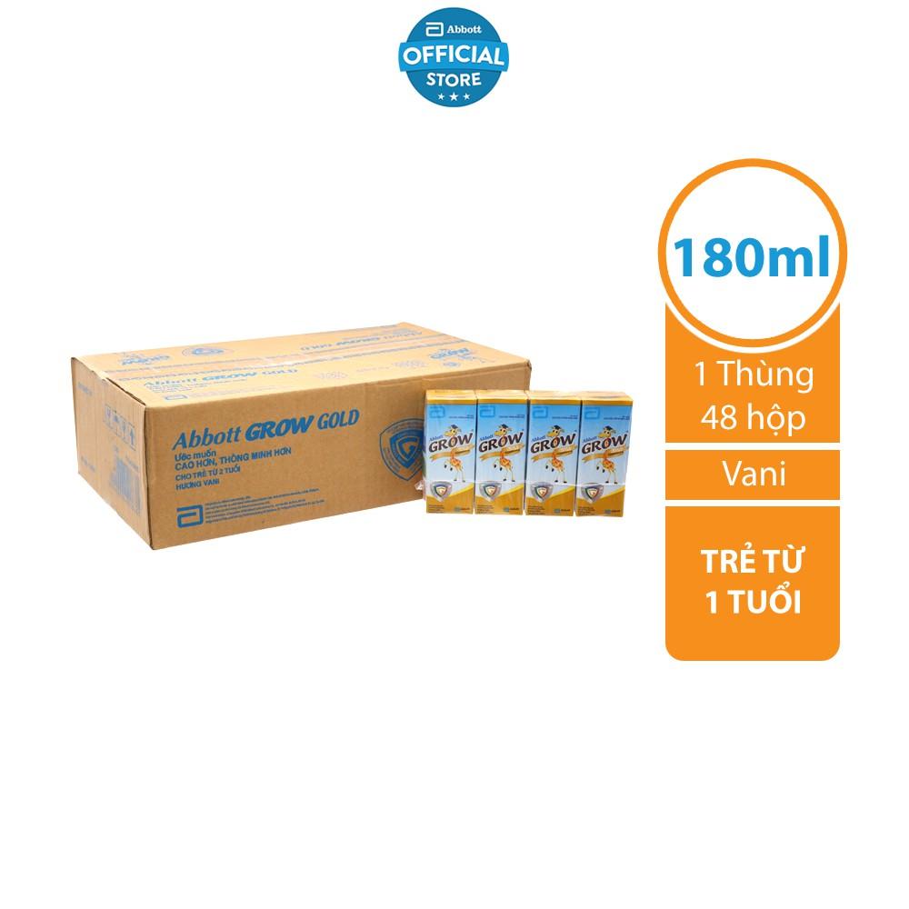 Thùng 48 hộp Sữa nước Abbott Grow Gold 180ml/ hộp