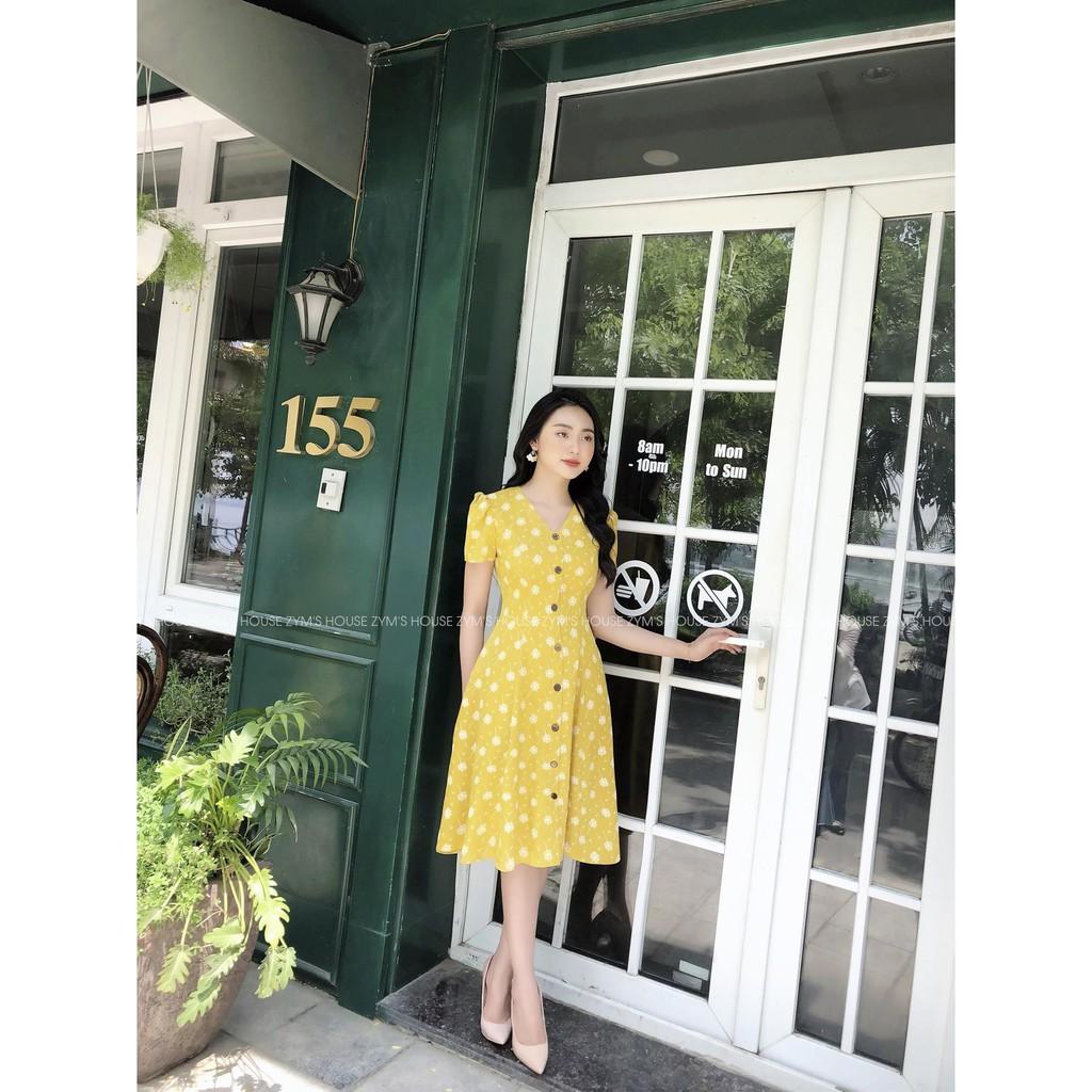 Đầm Hoa Công Chúa Zym's House - V1161