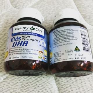 VIÊN UỐNG BỔ SUNG DHA CHO TRẺ HEALTHY CARE