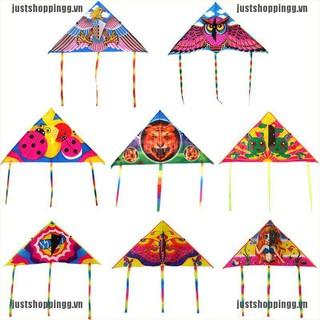{shopping} 1Pc Cute cartoon kite foldable outdoor flying kite children kids sport toys{JUST}